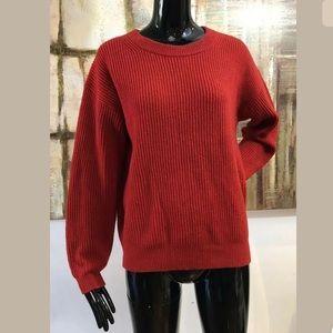 EVERLANE Cashmere Long Sleeve Sweater Medium